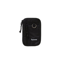 Load image into Gallery viewer, Supreme Small Zip Pouch Black