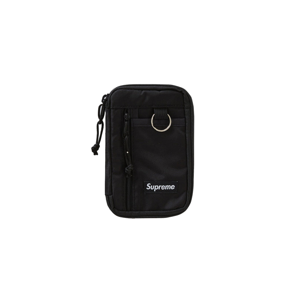 Supreme Small Zip Pouch Black