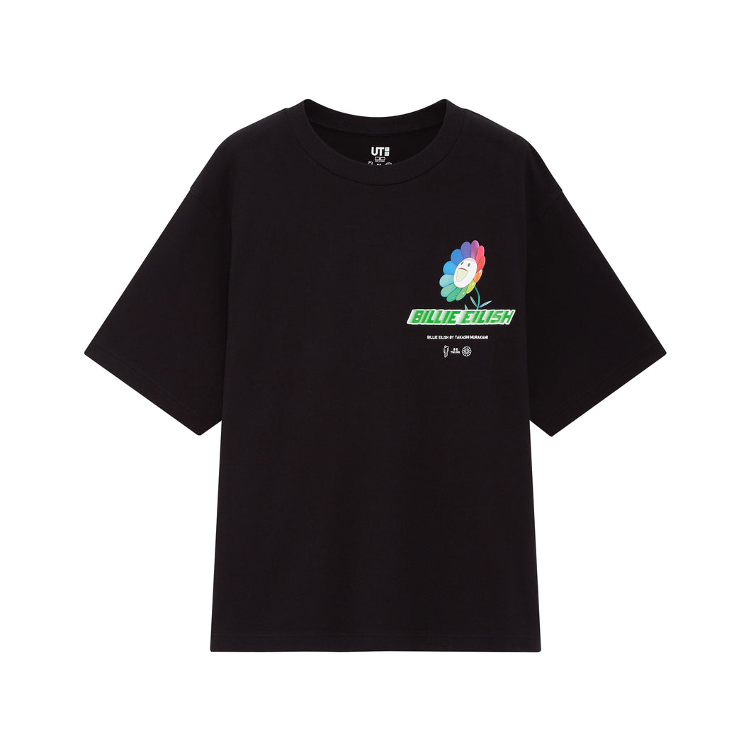 Billie Eilish x Uniqlo Small Logo Tee Black  Women