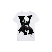 Load image into Gallery viewer, Vlone x City Morgue Dog Tee II (White), Clothing- dollarflexclub
