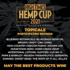 competitors for 2021 hemp cup