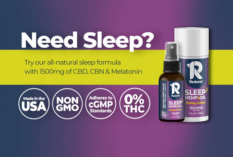 best all natural sleep aid with cbd and cbn and melatonin