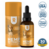 250mg Full-Spectrum Hemp CBD Oil For Medium Dogs (25-50lb)