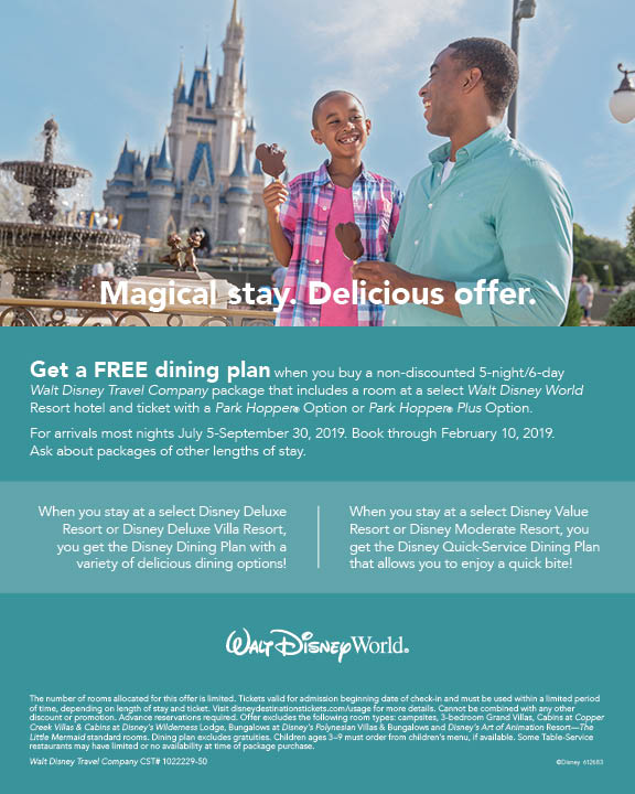 Magical Stay....Delicious Offer