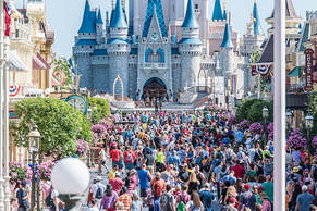 Crowds at Disney