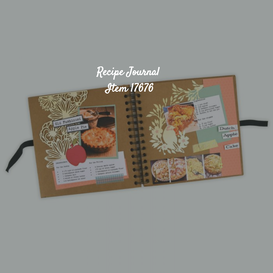 How to:   SIZZIX RECIPE JOURNAL Project IDEA
