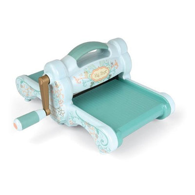 Sizzix 657900 Big Shot Cutting/Embossing Machine with Extended Multipurpose Platform, Powder Blue/Teal