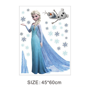 Frozen Wall Art  ElsA and Olaf