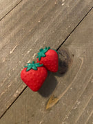 Fresh Strawberries Post earrings (2 sizes to choose from)