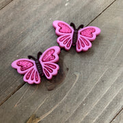 Butterfly earrings (3 colors to choose from)