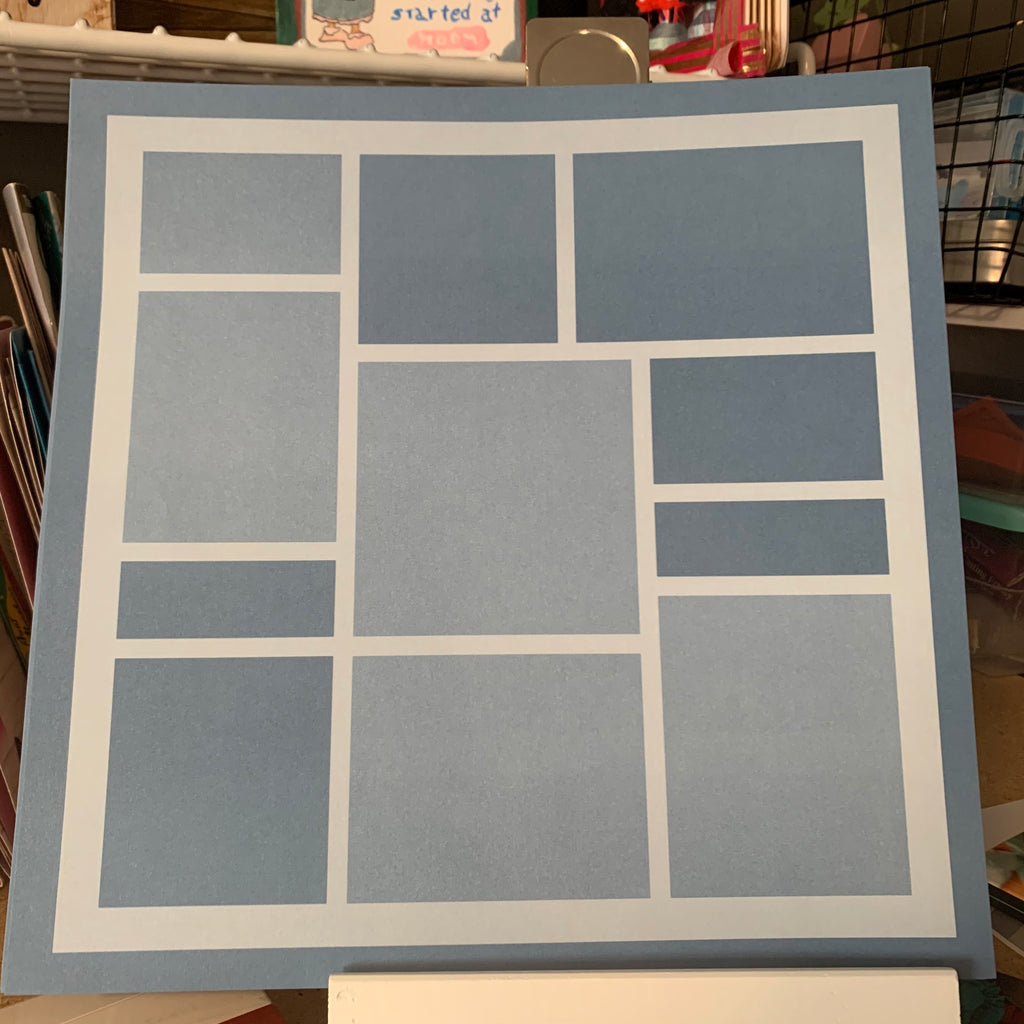 Close to My Heart My Reflections Base 12x12 pages --Online