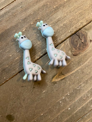 Jungle Baby Animal Post Earrings (4 animals to choose from)
