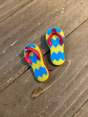 Fashionable Flip Flop Post Earrings