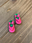 Cute Flip Flop Post Earrings