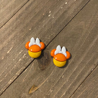 Mickey and Minnie Candy Corn Post Earrings