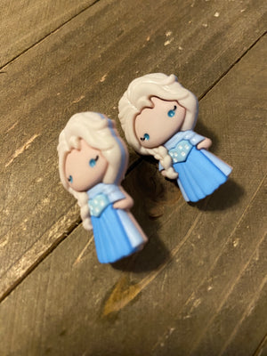 Elsa (Frozen) Post Earrings