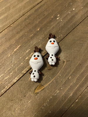 Olaf  (Frozen) Post Earrings