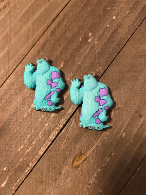Monster's Inc. Sully Post Earrings