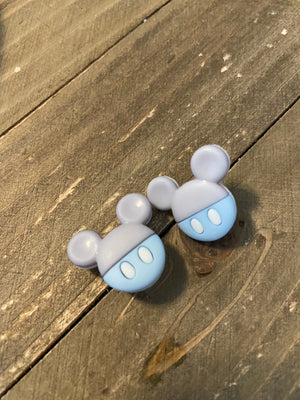 Baby Mickey Mouse Ears Post Earrings