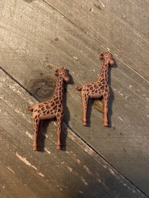 Giraffe-Wild Thing Post Earrings