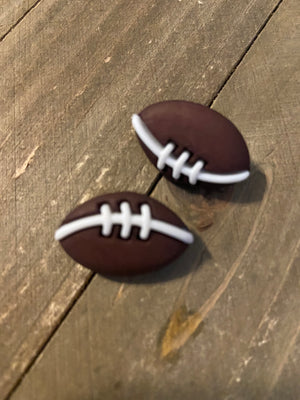 Football post earrings-Are you ready for some football!!!