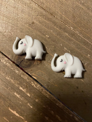 Elephant Post Earring