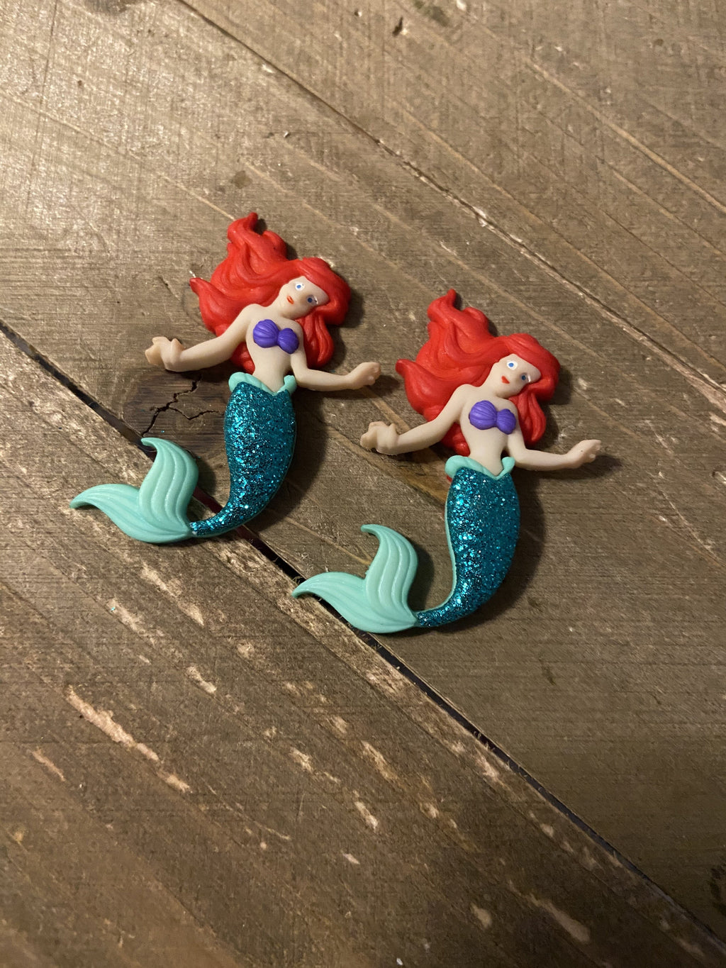 The Little Mermaid Post Earring
