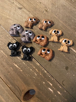 Playful Puppies Post Earrings (5 different puppies to choose)