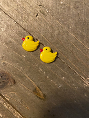 Duck Duck Post Earrings