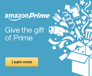 Give the gift of Amazon Prime