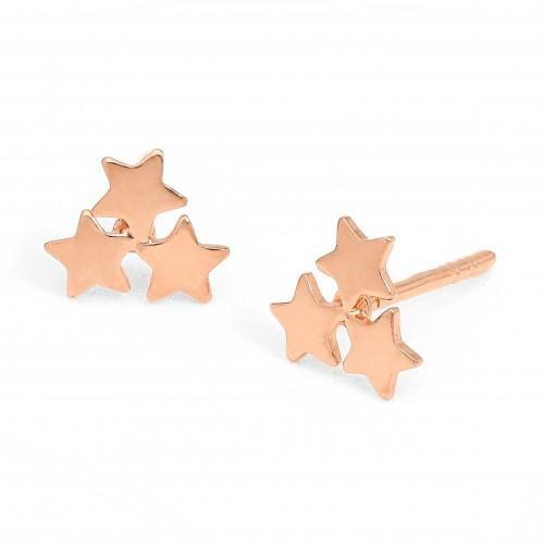 Starry Night Gold plated Earrings from lily & momo