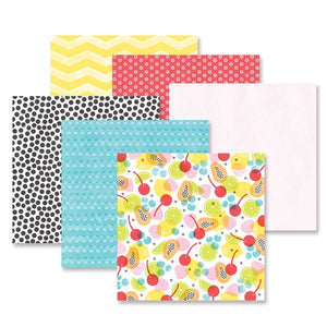 Creative Memories Citrus Summer Paper Pack (12/pk)