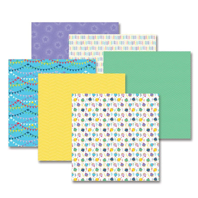 Creative Memories Party Time! Bright Paper Pack (12/pk)