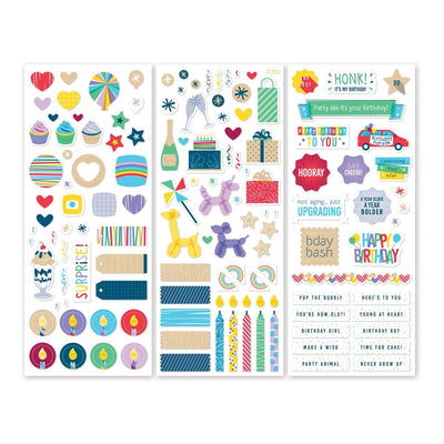 Creative Memories Party Time! Stickers