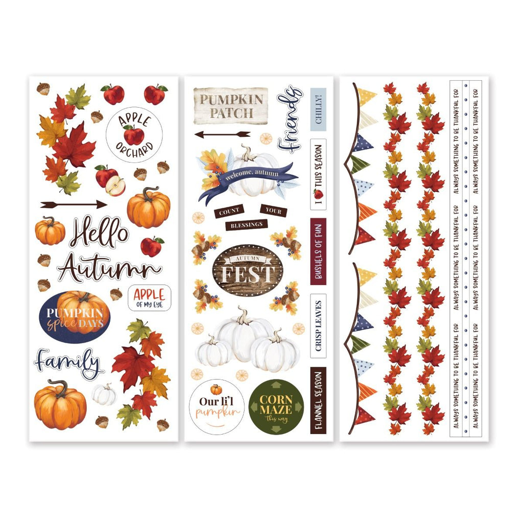 Creative Memories Hello Autumn Stickers (3/pk)