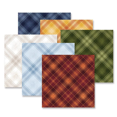 Creative Memories Hello Autumn Tone-on-Tone Paper Pack (12/pk)