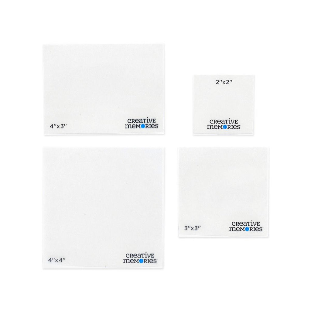 Creative Memories Photo Trimming Templates (4 pcs)