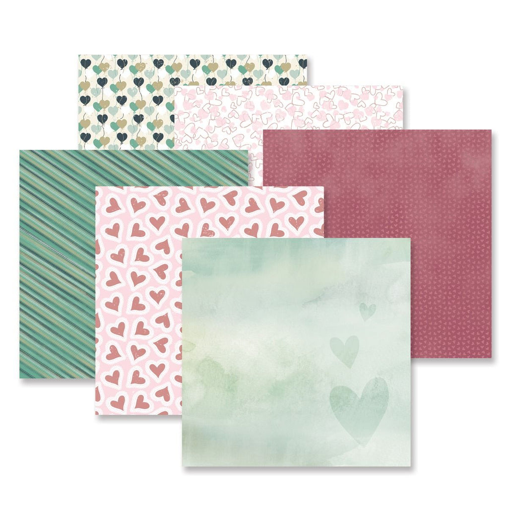 Creative Memories Love Wins Paper Pack (12/pk)