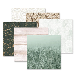 Creative Memories Winter Woods Paper Pack (12/pk)