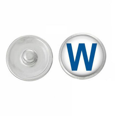 Fly The W(in) Snap - Snap Jewelry - Pair with our Base Pieces - Coordinate with 18-20mm Snap Bases - Gingersnaps - - Compatible