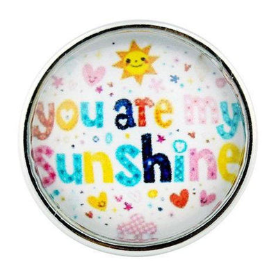 You are my Sunshine GINGER SNAP Coordinates with 18-20mm Snap Necklace, bracelet, earrings