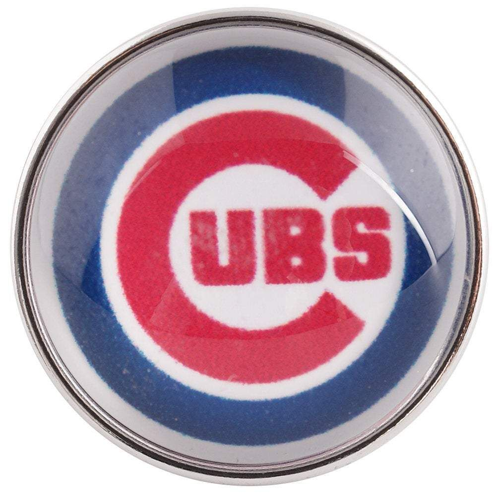 Glass Domed Snap Sports - Chicago Cubs