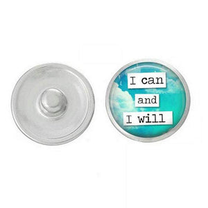 I can and I Will GINGER SNAP Coordinates with 18-20mm Snap Necklace, bracelet, earrings