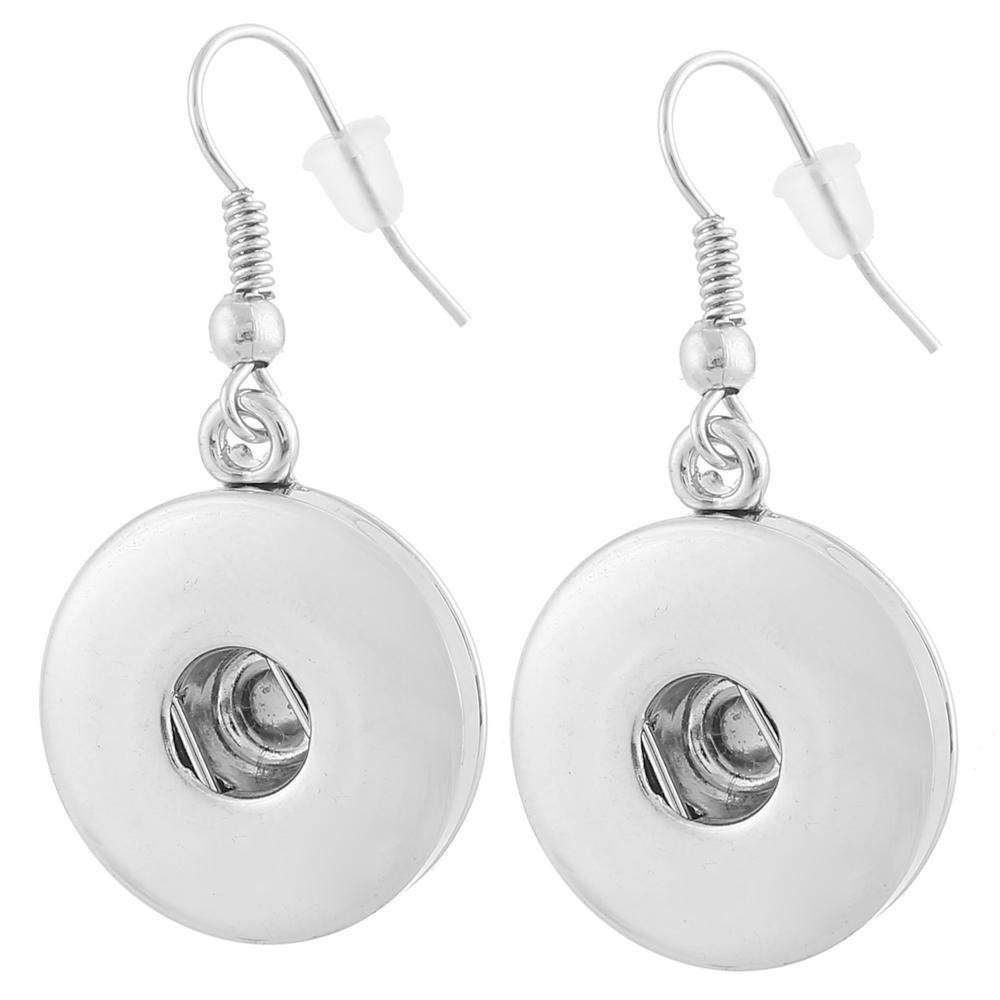 Earrings for Snap Jewelry  Compatible with  -18-20mm Snap