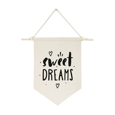 Sweet Dreams Hanging Wall Banner