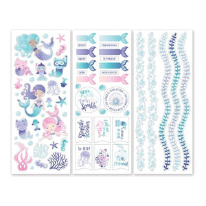Creative Memories Mermaid Cove Stickers (3/pk)