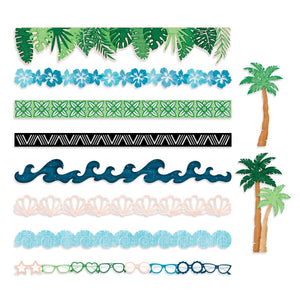 Creative Memories Vitamin Sea Laser Cut Borders Embellishments