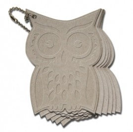 Maya Road Owl Coaster Chipboard Book --Garage Sale--