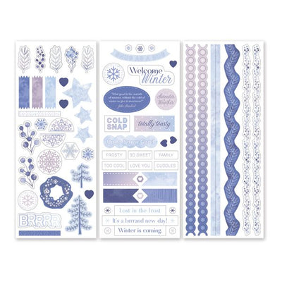 Creative Memories Winterberry Stickers (3/pk)
