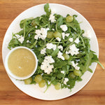 Feel Alive Foods Lemon Grape Salad with Luscious Lemonette Dressing